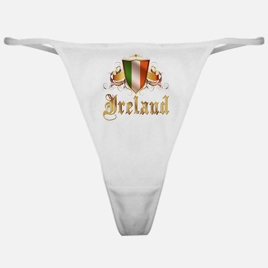 Irish pride Classic Thong