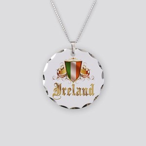 Irish pride Necklace Circle Charm
