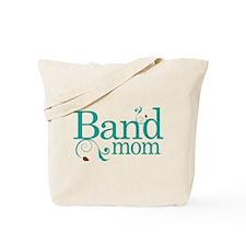 Band Mom Music Swirl Tote Bag