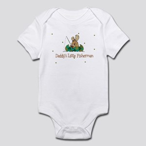 Daddy's Little Fisherman Infant Creeper