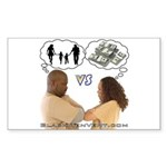 Versus Sticker (Rectangle 50 pk)