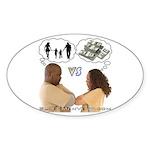 Versus Sticker (Oval 10 pk)