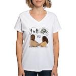 Versus Women's V-Neck T-Shirt