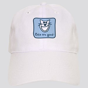 Cats are good. Cap