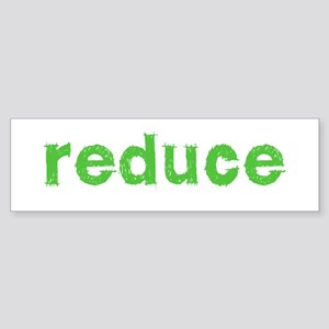 Reduce Reuse Recycle Sticker (Bumper)