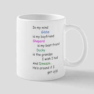 Gibbs BF Shepard GF DiNozzo Cold Mug