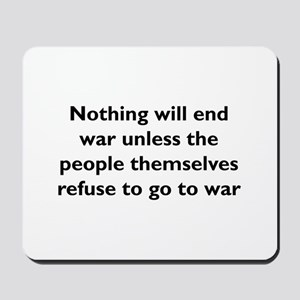 End War Mousepad