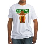 Illegal Alien Invasion Fitted T-Shirt