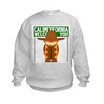 Illegal Alien Invasion Kids Sweatshirt