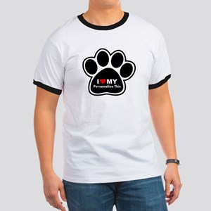 Personalized Pet Paw Ringer T