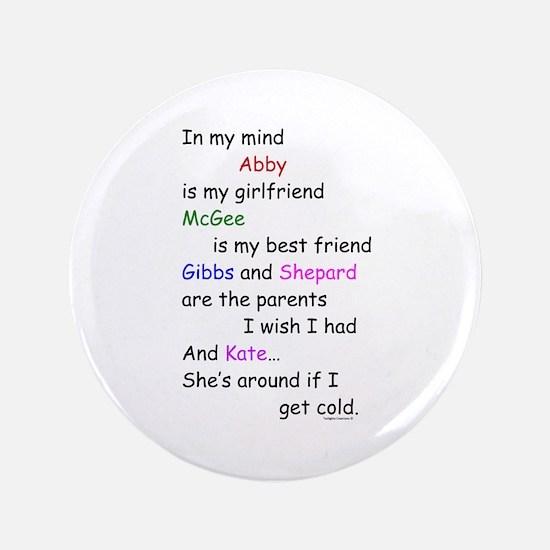 """Abby GF McGee BF KateCold 3.5"""" Button"""