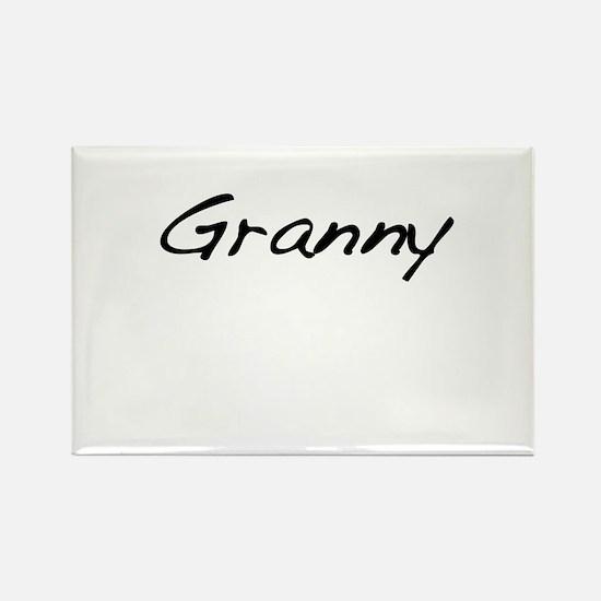 Granny Rectangle Magnet