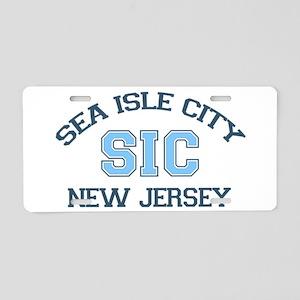 Sea Isle City NJ - Varsity Design Aluminum License