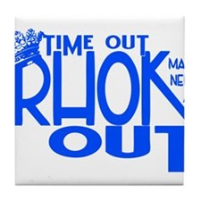 TIME OUT Tile Coaster