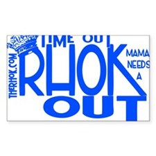 TIME OUT Sticker (Rectangle)