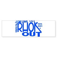 TIME OUT Sticker (Bumper)