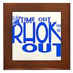 TIME OUT Framed Tile