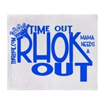 TIME OUT Throw Blanket