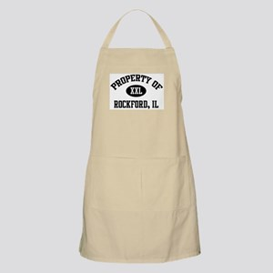 Property of Rockford BBQ Apron