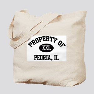 Property of Peoria Tote Bag