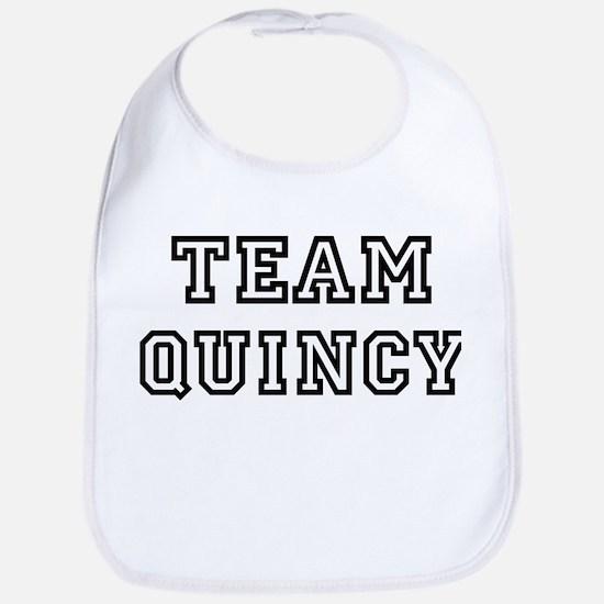 Team Quincy Bib