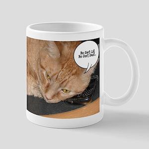 Orange Tabby Cat Humor Mug