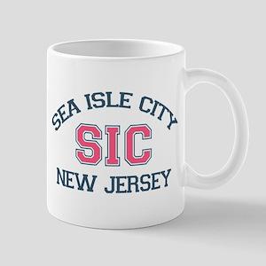 Sea Isle City NJ - Varsity Design Mug