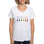 Wee Folk Art Women's V-Neck T-Shirt