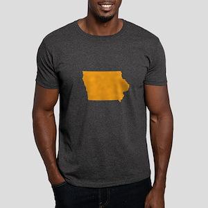 Orange Iowa Dark T-Shirt