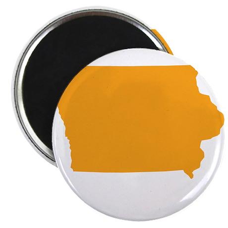 """Orange Iowa 2.25"""" Magnet (10 pack)"""