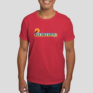 Sea Isle City NJ - Beach Design Dark T-Shirt