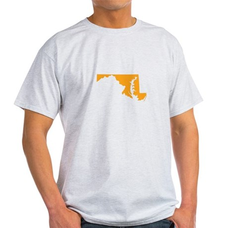 Orange Maryland Light T-Shirt