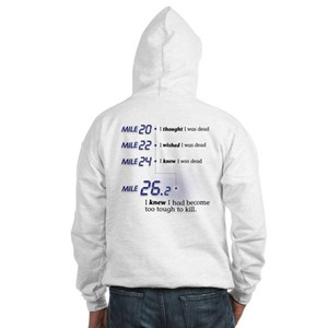 Too Tough To Kill Hooded Sweatshirt