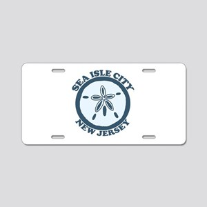 Sea Isle City NJ - Sand Dollar Design Aluminum Lic