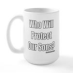 Our Sons 1 Large Mug