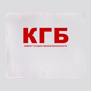 KGB Throw Blanket