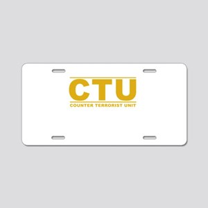 CTU Aluminum License Plate