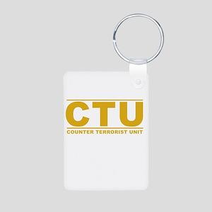 CTU Aluminum Photo Keychain