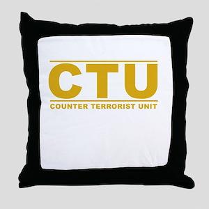 CTU Throw Pillow
