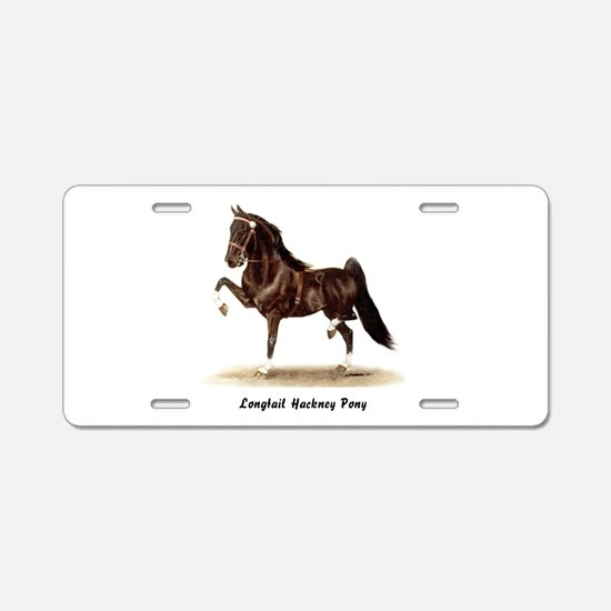 Hackney Pony Aluminum License Plate