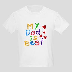 My Dad is Best Kids T-Shirt