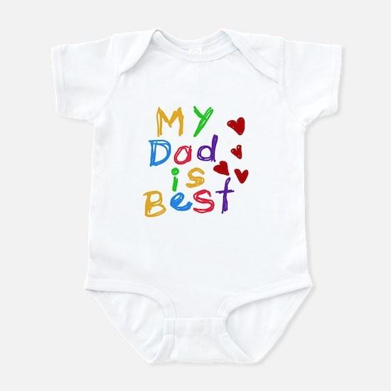 My Dad is Best Infant Bodysuit