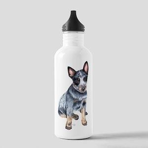 Australian Cattle Dog Stainless Water Bottle 1.0L