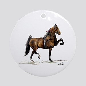 Hackney Pony Ornament (Round)
