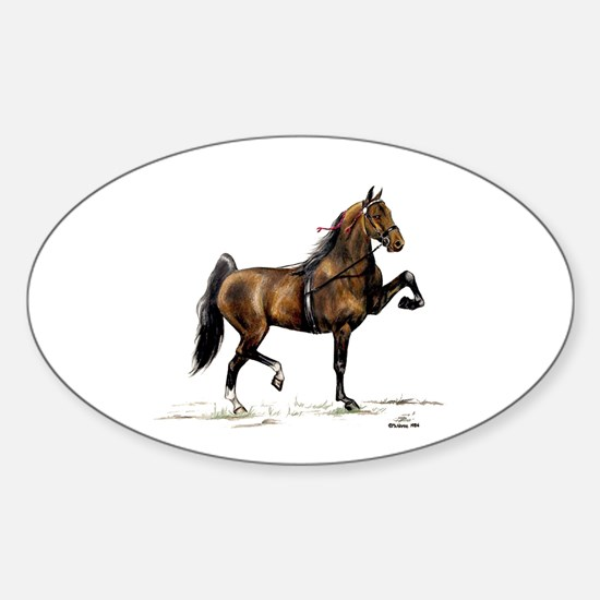 Hackney Pony Sticker (Oval 10 pk)