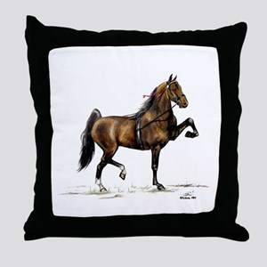 Hackney Pony Throw Pillow