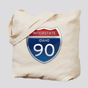 Interstate 90 - Idaho Tote Bag