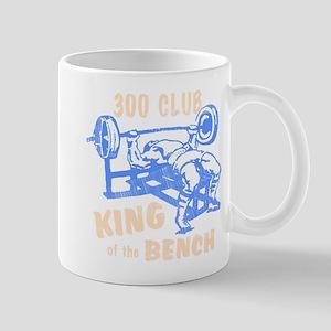 300 Club Bench Press Mug