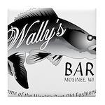 Wally's Bar Tile Coaster