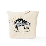 Wally's Bar Tote Bag